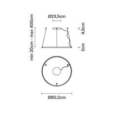 Olympic lorenzo truant suspension pendant light  fabbian a45a0101  design signed nedgis 121831 thumb