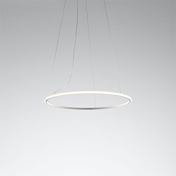 Suspension olympic blanc ip40 led 3000k 2370lm o80 2cm h2cm fabbian normal