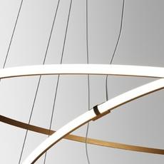 Oympic f45 3 diffusers bronze lorenzo truant  suspension pendant light  fabbian bronze f45 a11 76  design signed nedgis 72162 thumb