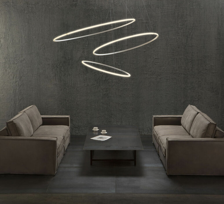 Olympic f45 high power lorenzo truant suspension pendant light  fabbian f45a2201  design signed nedgis 101067 product