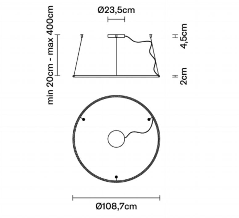 Olympic o108 7 lorenzo truant suspension pendant light  fabbian f45a0476  design signed nedgis 111800 product