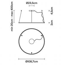 Olympic o108 7 lorenzo truant suspension pendant light  fabbian f45a0476  design signed nedgis 111800 thumb
