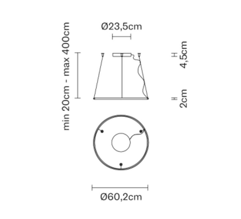 Olympic o138 7 lorenzo truant suspension pendant light  fabbian f45a0876  design signed nedgis 111837 product