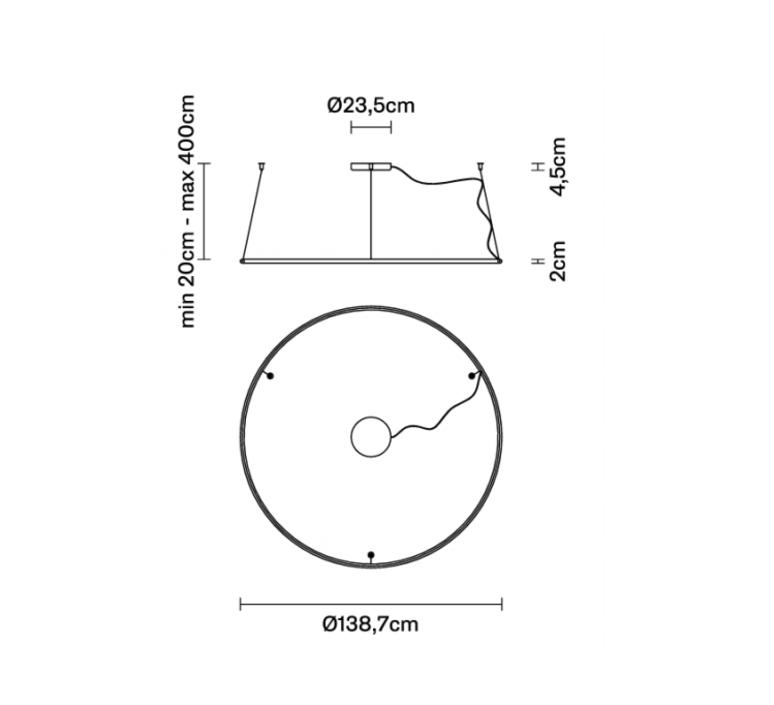 Olympic o138 7 lorenzo truant suspension pendant light  fabbian f45a0676  design signed nedgis 111797 product