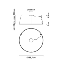 Olympic o138 7 lorenzo truant suspension pendant light  fabbian f45a0676  design signed nedgis 111797 thumb