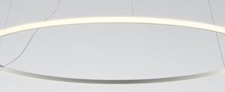 Suspension olympic o80 2 blanc bronze ip40 led 2700k lm o80 2cm h4 5cm fabbian normal
