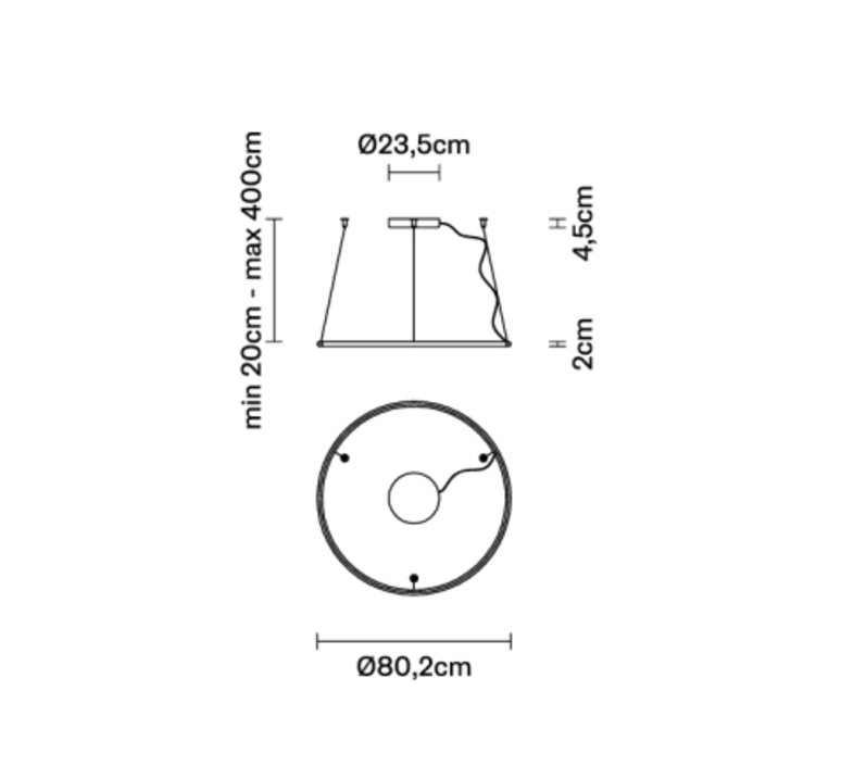 Olympic o80 2  lorenzo truant suspension pendant light  fabbian f45a0276  design signed nedgis 111803 product