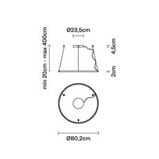 Olympic o80 2  lorenzo truant suspension pendant light  fabbian f45a0276  design signed nedgis 111803 thumb