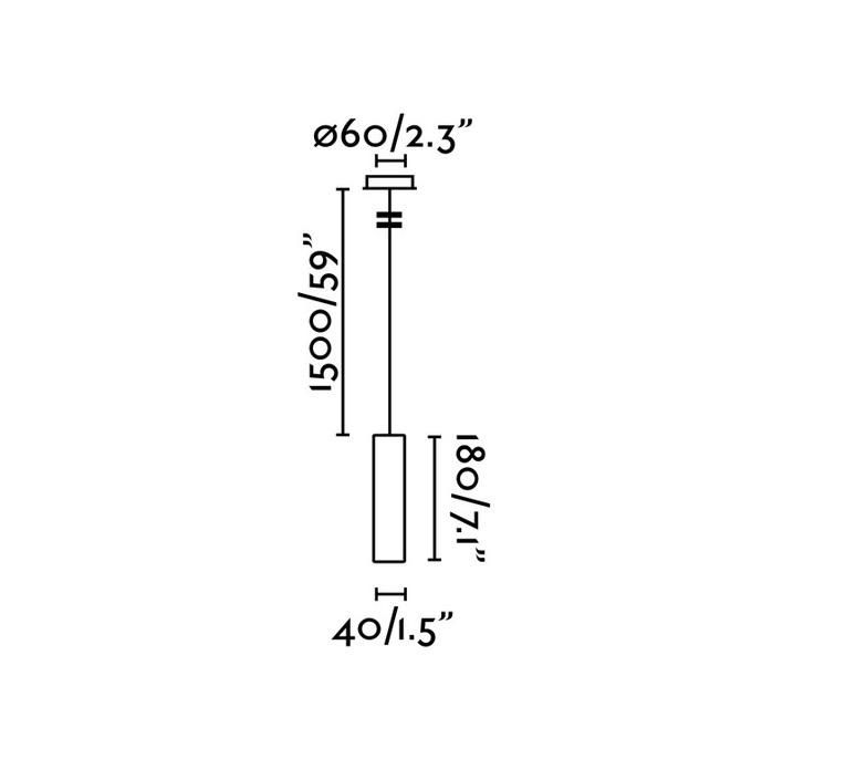 Ora led estudi ribaudi suspension pendant light  faro 29895  design signed nedgis 67981 product