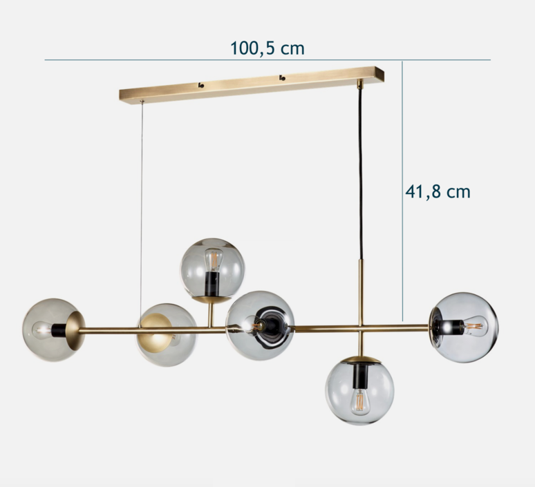 Orb  suspension pendant light  bolia 20 116 03  design signed 68682 product