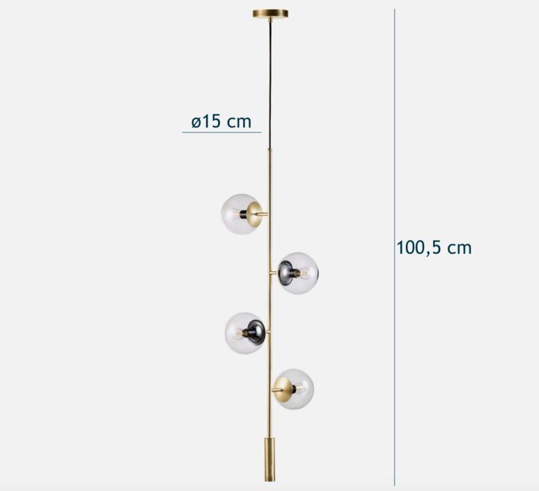 Orb  suspension pendant light  bolia 20 116 02  design signed 39384 product