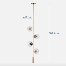 Orb  suspension pendant light  bolia 20 116 02  design signed 39384 thumb