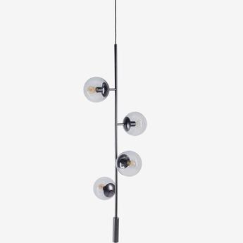 Suspension orb lounge noir o15cm h100 5cm bolia normal
