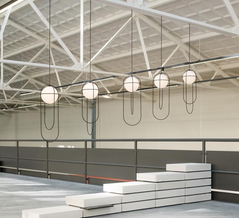 Orbit lukas peet suspension pendant light  andlight orb p bk 230  design signed nedgis 100493 product