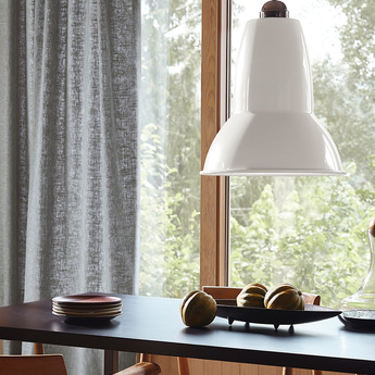 Suspension original 1227 giant blanc alpin finition brillante o44cm h54cm anglepoise normal