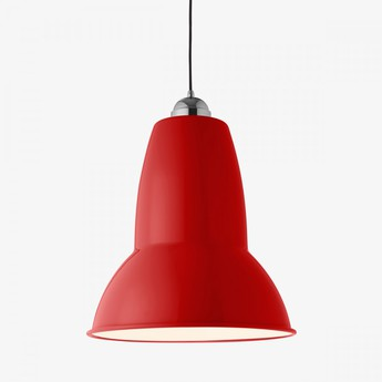 Suspension original 1227 giant rouge cramoisi finition brillante o44cm h54cm anglepoise normal