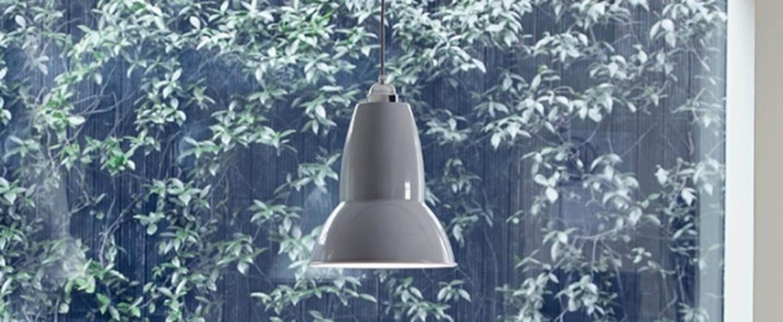Suspension original 1227 gris clair h30cm anglepoise normal