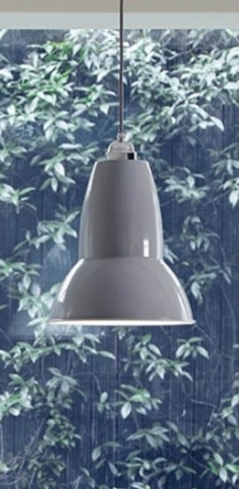 Suspension original 1227 gris clair h30cm anglepoise normal