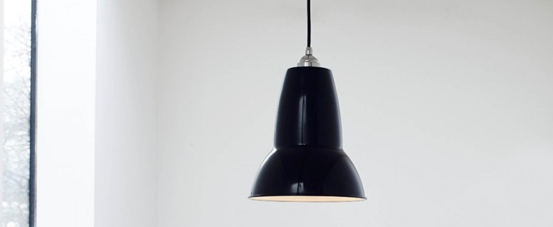 Suspension original 1227 noir h25 5cm anglepoise normal