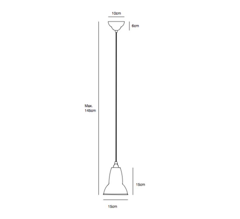 Original 1227 george carwardine anglepoise 30915 luminaire lighting design signed 31915 product