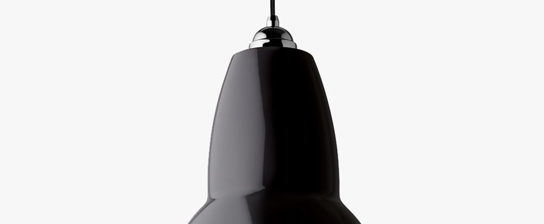 Suspension original 1227 standard noir o15cm h15cm anglepoise normal