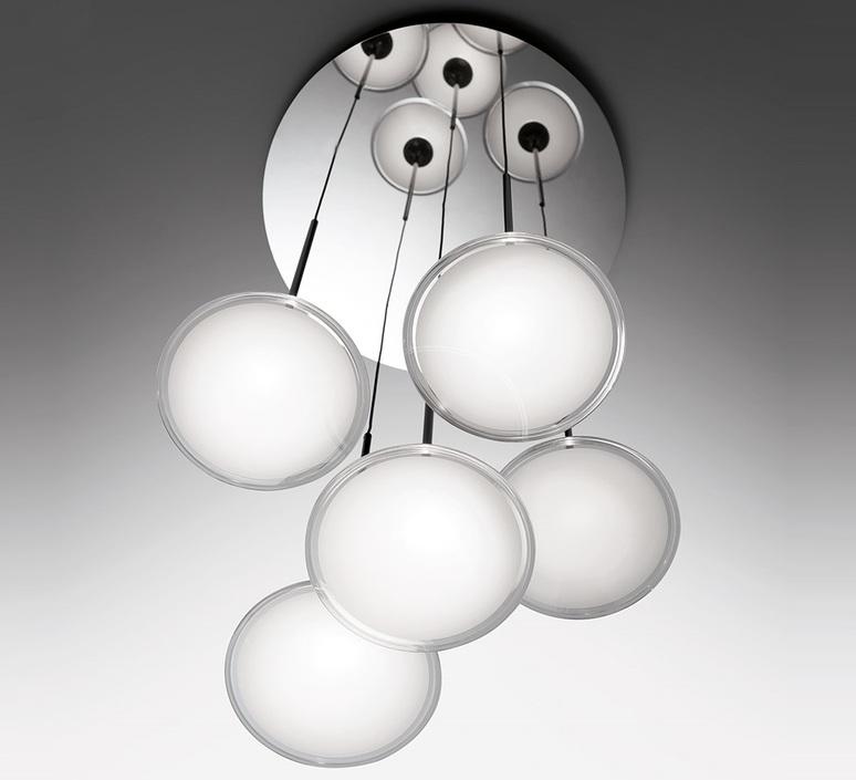 Orsa cluster 5  suspension pendant light  artemide 0355030a  design signed nedgis 120284 product