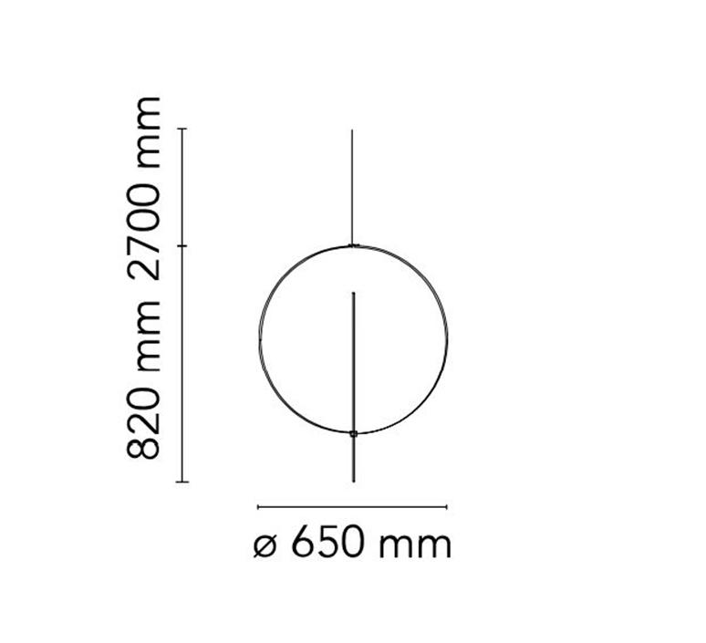 Overlap 1 michael anastassiades suspension pendant light  flos f4633009  design signed nedgis 127130 product