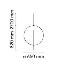 Overlap 1 michael anastassiades suspension pendant light  flos f4633009  design signed nedgis 127130 thumb