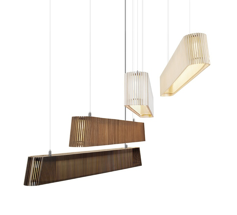 Owalo 7000 seppo koho suspension pendant light  secto design 16 7000 21  design signed 42269 product
