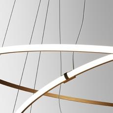 Oympic f45 3 diffusers bronze lorenzo truant  suspension pendant light  fabbian bronze f45 a11 76  design signed nedgis 65039 thumb