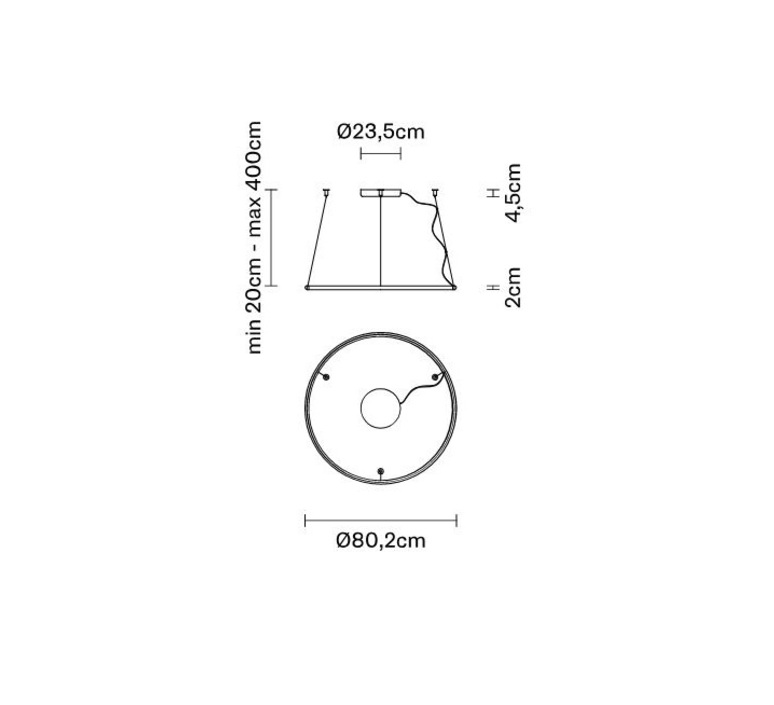 Oympic f45 bronze lorenzo truant  suspension pendant light  fabbian bronze f45 a01 76  design signed nedgis 65034 product