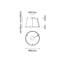 Oympic f45 bronze lorenzo truant  suspension pendant light  fabbian bronze f45 a01 76  design signed nedgis 65034 thumb
