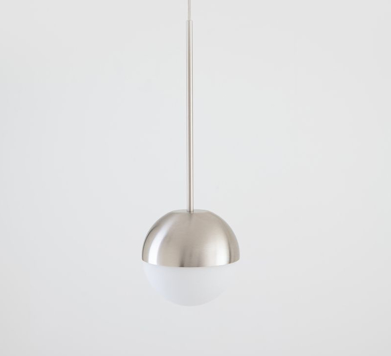 Pallina historical archive fontana arte suspension pendant light  fontanaarte  f443080150 ne nickel  design signed nedgis 79086 product
