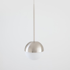Pallina historical archive fontana arte suspension pendant light  fontanaarte  f443080150 ne nickel  design signed nedgis 79086 thumb