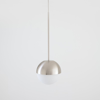 Suspension pallina nickel o12cm h36cm fontana arte normal