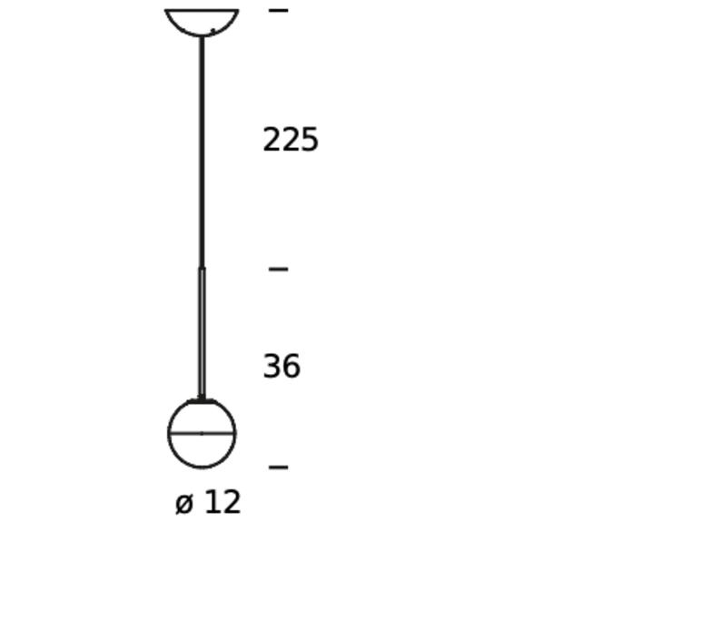 Pallina historical archive fontana arte suspension pendant light  fontanaarte  f443080150 ne noir  design signed nedgis 79083 product