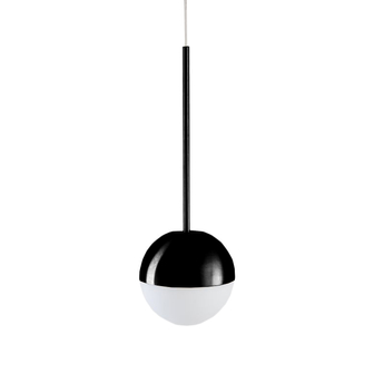 Suspension pallina noir o12cm h36cm fontana arte normal