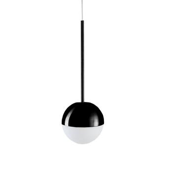 Suspension pallina noir o12cm h36cm fontana arte normal