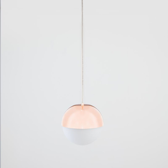 Suspension pallina rose gold o12cm h36cm fontana arte normal