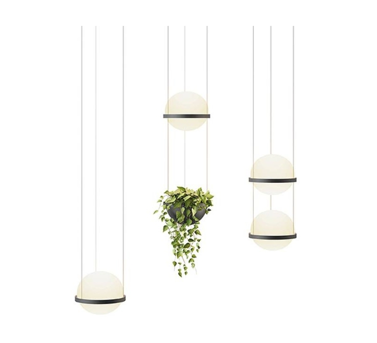 Palma 3720 antoni arola suspension pendant light  vibia 372018 1b  design signed nedgis 80134 product