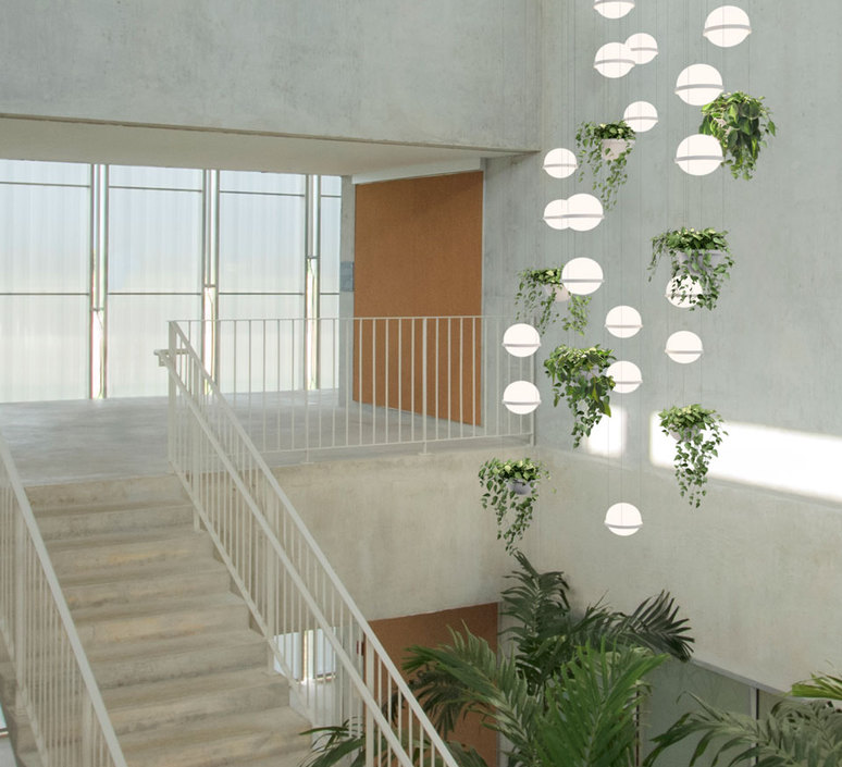 Palma 3730 antoni arola suspension pendant light  vibia 373018 1a  design signed nedgis 80170 product