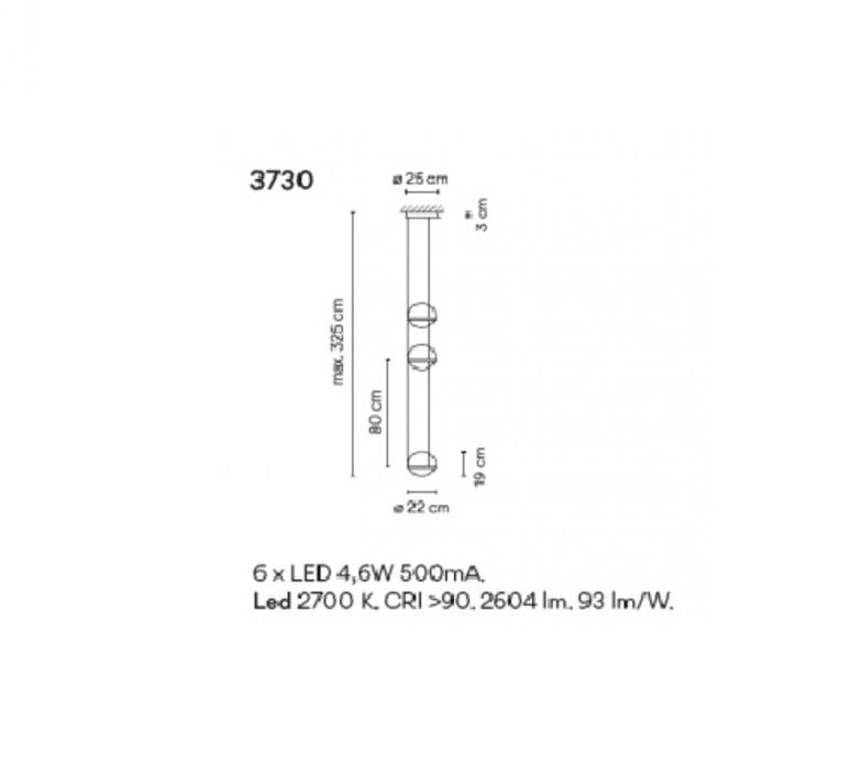 Palma 3730 antoni arola suspension pendant light  vibia 373018 1a  design signed nedgis 80171 product
