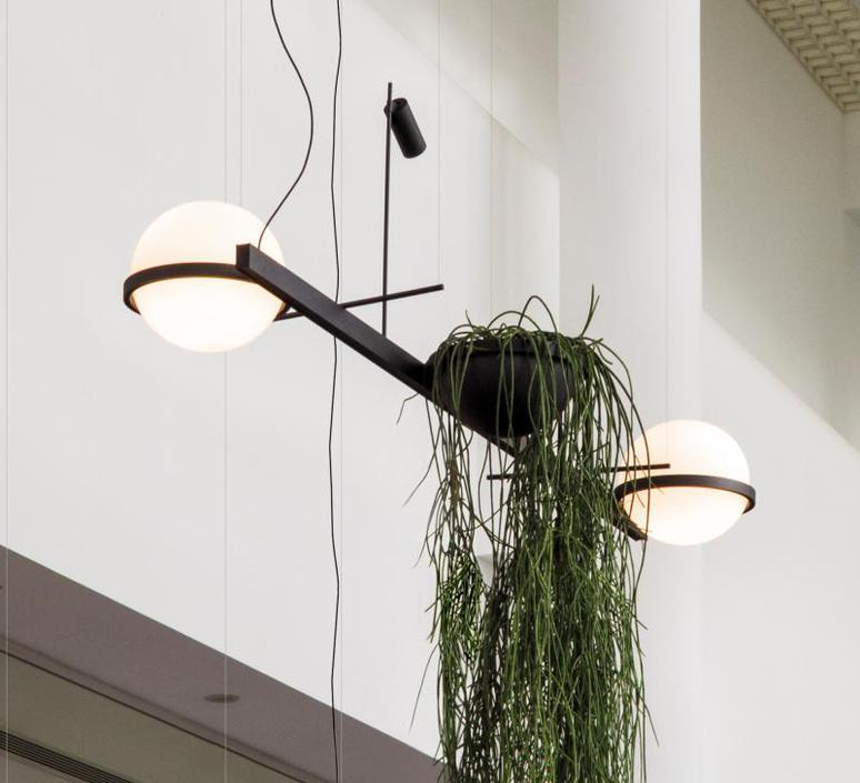 Palma 3734 antoni arola suspension pendant light  vibia 373418 1a  design signed nedgis 80177 product