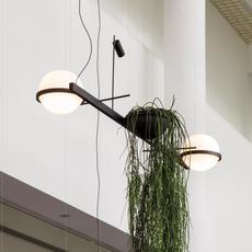 Palma 3734 antoni arola suspension pendant light  vibia 373418 1a  design signed nedgis 80177 thumb