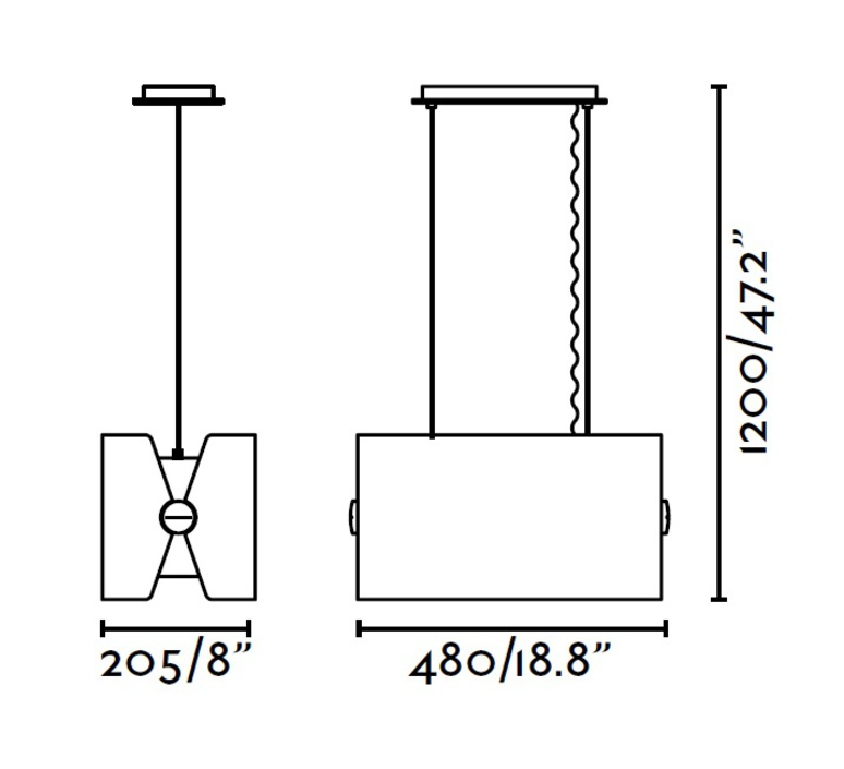 Papillon jordi busquets faro 29294 luminaire lighting design signed 23334 product