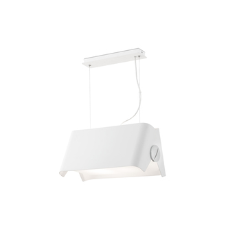 Suspension papillon blanc h120cm faro normal