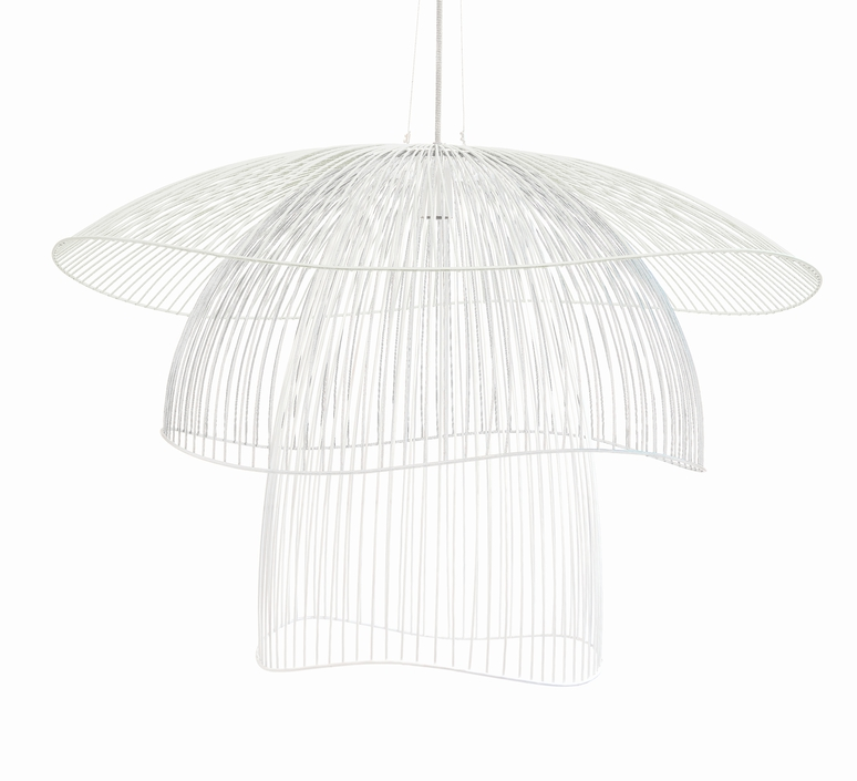 Papillon gm elise fouin forestier ef11170lwh luminaire lighting design signed 27660 product
