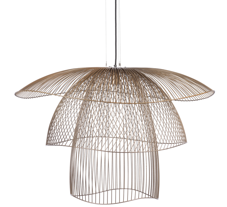 Papillon l elise fouin suspension pendant light  forestier 20786  design signed 60411 product