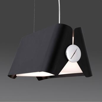 Suspension papillon noir h120cm faro normal