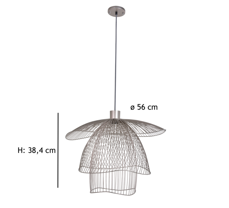 Papillon pm  suspension pendant light  forestier 20791  design signed 38410 product